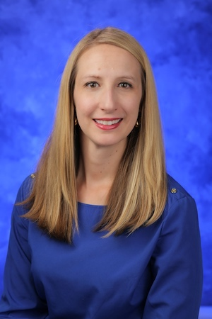 A head-and-shoulders professional photo of Amy Arnold, PhD