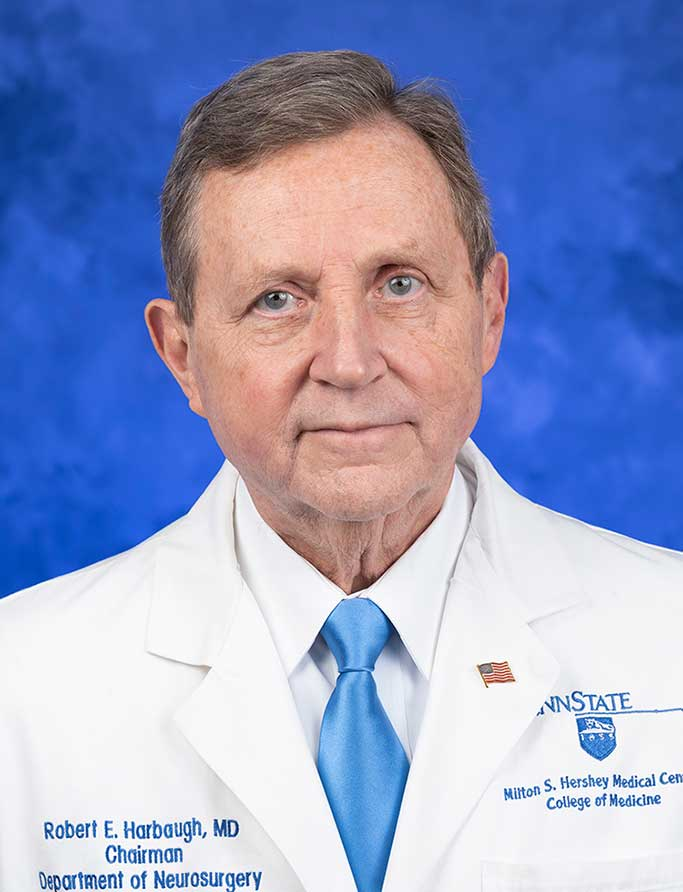 A head-and-shoulders professional photo of Dr. Robert Harbaugh